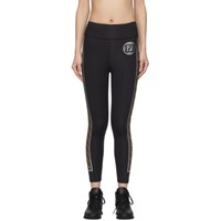 Fendi Black Forever Leggings