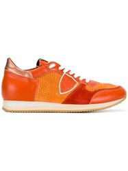 Philippe Model Tropez Sneakers Yellow Orange