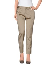 Fabrizio Lenzi Trousers Casual Trousers Women Beige