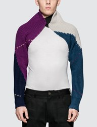 Raf Simons Knitted Sleeves With Elastic