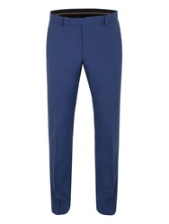 Alexandre Of England Bromley Panama Slim Fit Trouser Blue