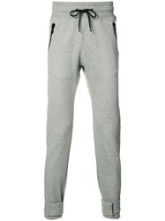 Moncler X Off White Elasticated Trousers Grey