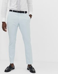Selected Homme Slim Suit Trouser In Light Green