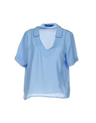 Anonyme Designers Blouses Sky Blue