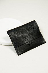 Free People Washed Mini Leather Wallet