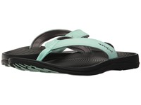 Superfeet Outside Sandal Yucca Glacier Gray Women's Sandals Green