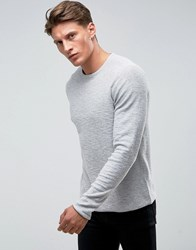 Only And Sons Knitted Sweater Gray