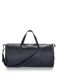 Miansai Duffle Leather Bag Navy Black