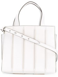 Max Mara Small Handle Bag White