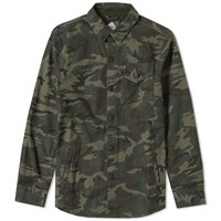 Barbour Wyke Overshirt Green