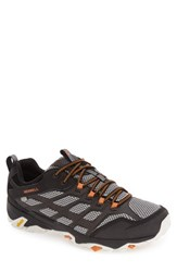 Merrell Men's Moab Fst Waterproof Hiking Shoe Black