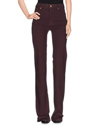 Roberto Cavalli Trousers Casual Trousers Women Maroon