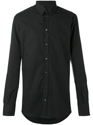 Dolce And Gabbana Gold Fit Shirt Black