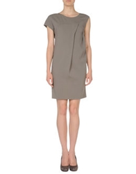 Jofre Short Dresses Khaki