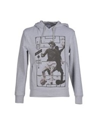 Frankie Morello Sexywear Sweatshirts Light Grey