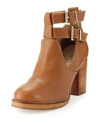 Seychelles Maximum Ankle Wrap High Heel Bootie Tan