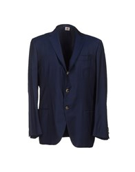 Luigi Borrelli Napoli Suits And Jackets Blazers Men Dark Blue