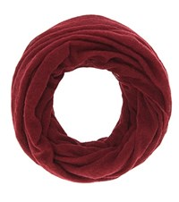 Isabel Marant Zenica Cashmere Infitinity Scarf Red