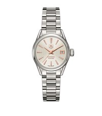 Tag Heuer Carrera Automatic 28Mm Watch Unisex Silver