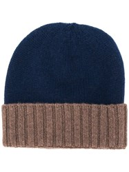 Dell'oglio Ribbed Detail Knitted Hat 60
