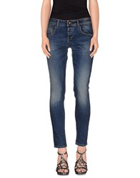 Maison Clochard Denim Denim Trousers Women Blue