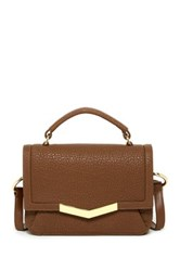 Time's Arrow Helene Leather Micro Satchel Brown