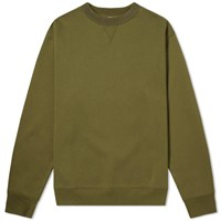 Acne Studios Flogho Crew Sweat Green