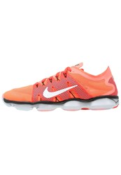Nike Performance Zoom Fit Agility 2 Sports Shoes Bright Mango White Bright Crimson Blue Orange