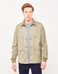 Barbour Alan Overshirt Green Brown