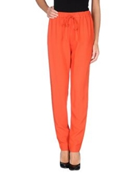 Vanessa Bruno Athe' Casual Pants Red