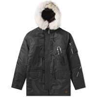 Neighborhood N 3D Jacket Black