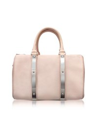 Sophie Hulme Blossom Pink Charlton Leather Medium Bowling Bag Powder Pink