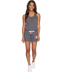 Nike Sportswear Vintage Romper Anthracite Sail Women's Jumpsuit And Rompers One Piece Black