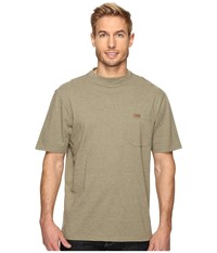Pendleton S S Deschutes Pocket Shirt Sage Green Heather Men's T Shirt