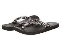 Sanuk Yoga Slinger Prints Zebra Women's Sandals Animal Print