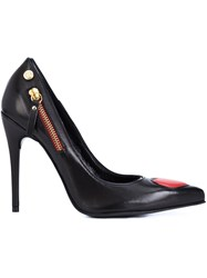 Love Moschino Heart Detail Pumps Black
