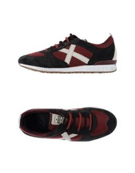 Munich Low Tops And Trainers Maroon