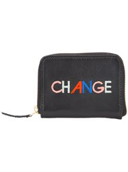 Lizzie Fortunato Jewels Change Coin Purse Women Leather One Size Black