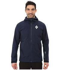 Black Diamond Liquid Point Shell Captain Men's Jacket Blue