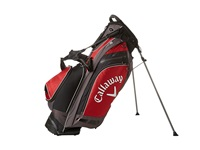 Callaway Hyper Lite 5 Stand Bag Red Charcoal Black Athletic Sports Equipment