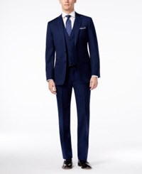 Calvin Klein X Navy Vested Extra Slim Fit Suit