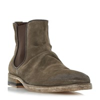 Bertie Chingy Washed Ankle Boot Grey