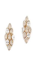 Ben Amun Crystal Ombre Earrings Ombre Shadown Crystal Gold