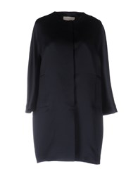 Rossopuro Overcoats Dark Blue