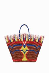 Sensi Studio Women S Zula Fringe Tote Boutique1 Multi