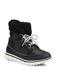Sorel Cozy Carnival Nylon And Fleece Boots Black