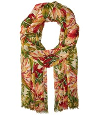 Patricia Nash Scarf Cuban Tropical Natural Scarves Multi