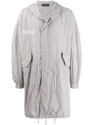 Mr And Mrs Italy Hooded Mid Length Parka 60