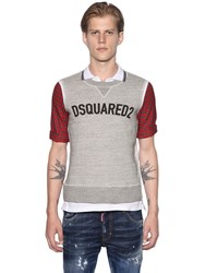 Dsquared Logo Sweatshirt Jersey And Plaid Polo
