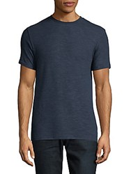 Hyden Yoo Short Sleeve Tee Shirt Navy